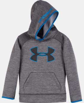 New Arrival Boys' Pre-School UA Armour® Fleece Twist Highlight Hoodie   $42.99