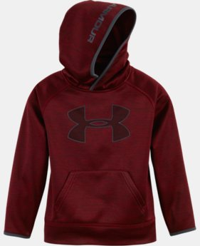 Boys' Pre-School UA Armour® Fleece Twist Highlight Hoodie  1 Color $42.99