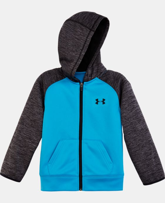 Boys' Pre-School UA Armour® Fleece Twist Raglan Hoodie  1 Color $42.99