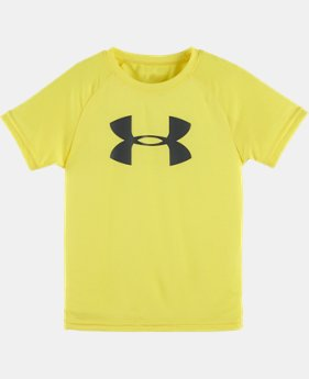 New Arrival Boys' Pre-School UA Big Logo Short Sleeve T-Shirt  1 Color $17.99
