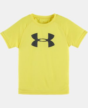 Boys' Pre-School UA Big Logo Short Sleeve T-Shirt  1 Color $17.99