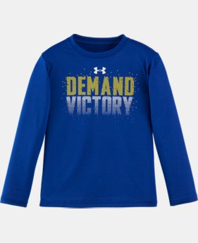 New Arrival Boys' Pre-School UA Demand Victory Short Sleeve T-Shirt LIMITED TIME: FREE SHIPPING 2 Colors $22.99