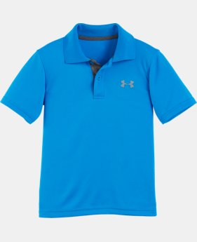 New Arrival Boys' Pre-School UA Match Play Polo Shirt LIMITED TIME: FREE SHIPPING 3 Colors $26.99