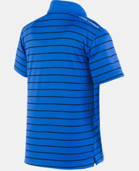 Boys' Pre-School UA Play Off Stripe Polo Shirt  1 Color $29