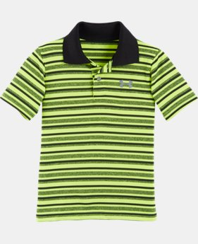 Boys' Toddler UA Playoff Stripe Polo  LIMITED TIME: FREE U.S. SHIPPING  $21.99