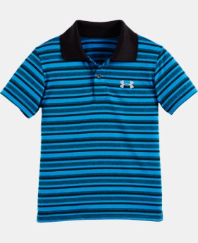 New Arrival Boys' Toddler UA Playoff Stripe Polo    $28.99