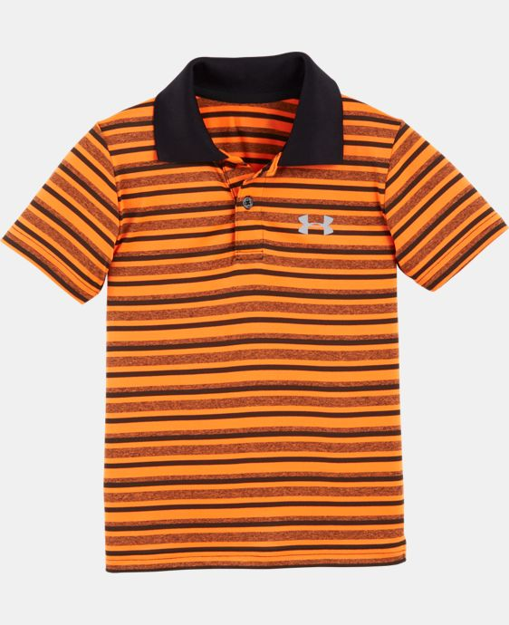 Boys' Toddler UA Playoff Stripe Polo   1 Color $28.99