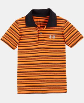 Boys' Pre-School UA Play Off Stripe Polo Shirt  1 Color $28.99