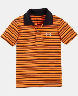 Boys' Pre-School UA Play Off Stripe Polo Shirt LIMITED TIME: UP TO 30% OFF 1 Color $21.99