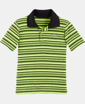 Boys' Infant UA Playoff Stripe Polo  LIMITED TIME: FREE U.S. SHIPPING 1 Color $26.99