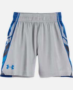New Arrival Boys' Pre-School UA Select Hexascope Shorts LIMITED TIME: FREE SHIPPING  $24.99