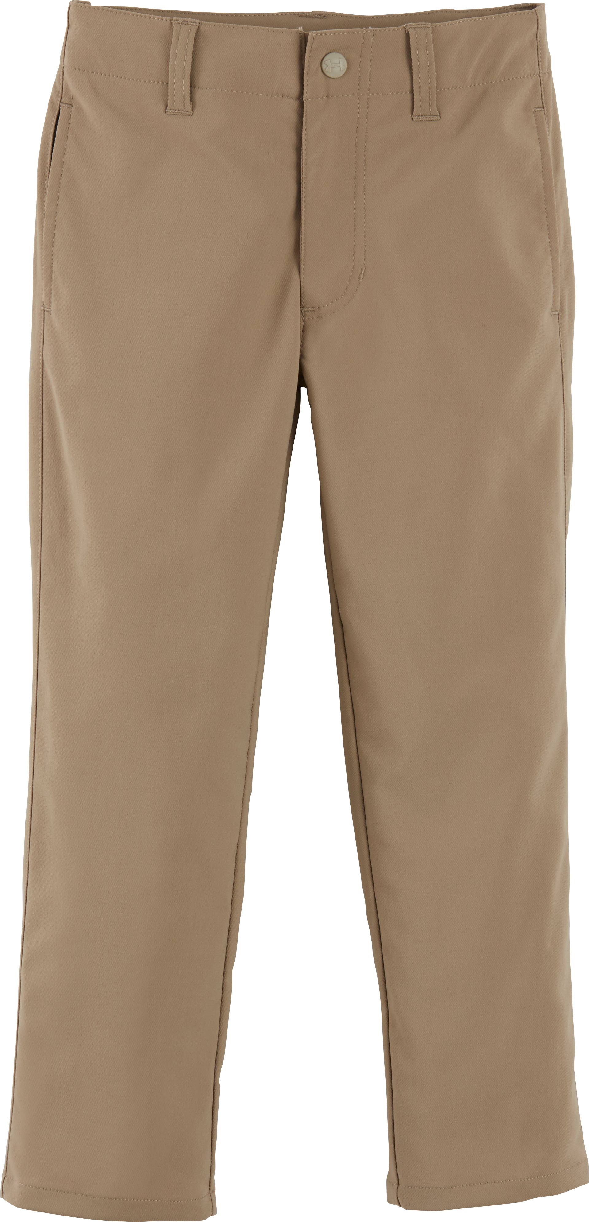 Boys' Pre-School UA Match Play Pants, Canvas, Laydown