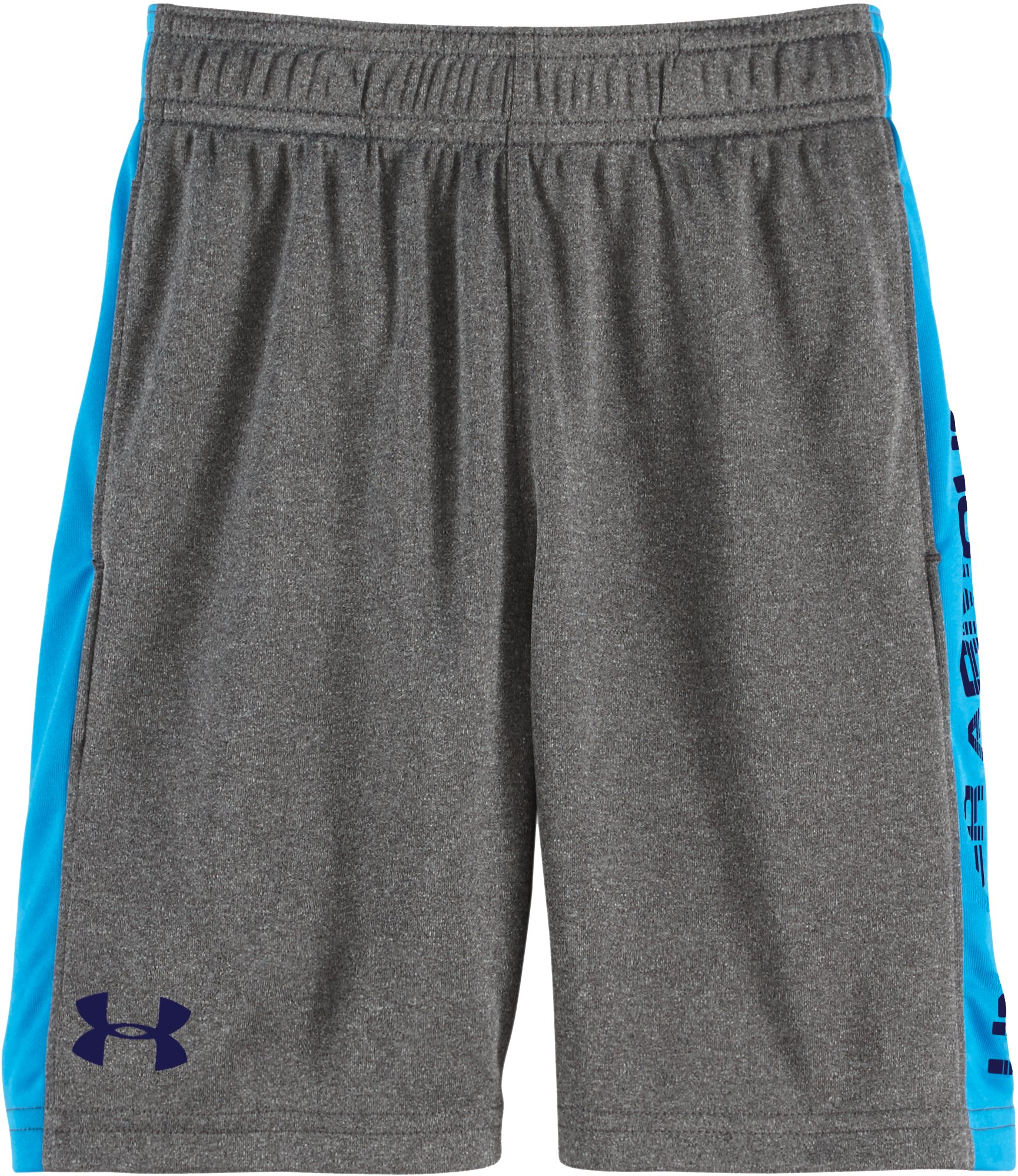 Boys' Infant UA Eliminator Shorts, Carbon Heather, Laydown