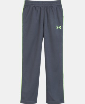 Boys' Pre-School UA Midweight Warm-Up Pants  LIMITED TIME OFFER + FREE U.S. SHIPPING 4 Colors $26.99