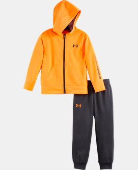 Boys' Pre-School UA Symbol Hoodie Track Set  1 Color $42.99