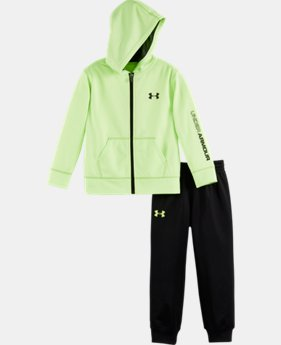 New Arrival Boys' Infant UA Symbol Hooded Track Suit    $40.99