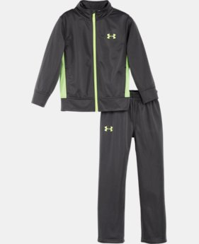 New Arrival Boys' Toddler UA Legendary Track Suit    $39.99