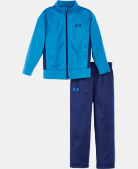 New Arrival Boys' Toddler UA Legendary Track Suit   1 Color $39.99