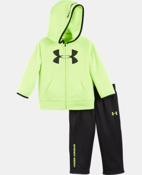 New Arrival Boys' Infant UA Big Logo Hoodie Armour® Fleece Set   $42.99
