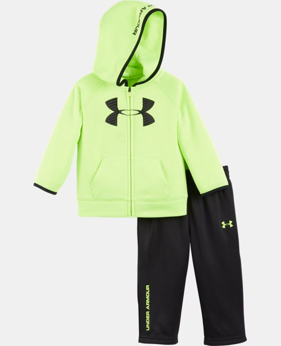 New Arrival Boys' Newborn UA Armour® Fleece Set LIMITED TIME: FREE U.S. SHIPPING 1 Color $42.99