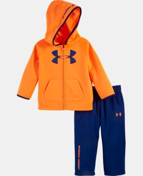 New Arrival Boys' Newborn UA Armour® Fleece Set  1 Color $42.99