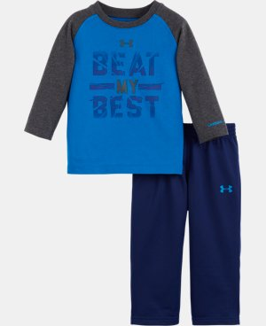 New Arrival Boys' Infant UA Beat My Best Set   $34.99