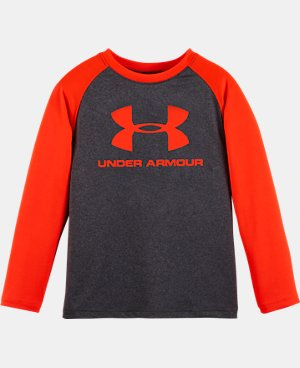 New Arrival Boys' Toddler UA Core Raglan Long Sleeve LIMITED TIME: FREE U.S. SHIPPING  $22.99