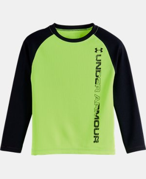 Boys' Toddler UA Waffle Crew Long Sleeve   $28.99