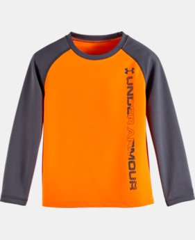 New Arrival Boys' Pre-School UA Waffle Crew Long Sleeve  1 Color $28.99
