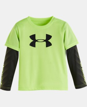 New Arrival Boys' Infant UA Big Logo Long Sleeve    $27.99
