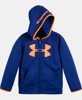 New Arrival Boys' Pre-School UA Armour® Fleece Highlight Hoodie  1 Color $39.99