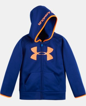 Boys' Pre-School UA Armour® Fleece Highlight Hoodie LIMITED TIME: FREE U.S. SHIPPING 1 Color $39.99