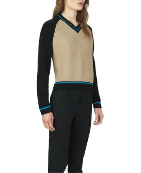 Women's UAS Fieldhouse V-Neck Knit Sweater  1 Color $119