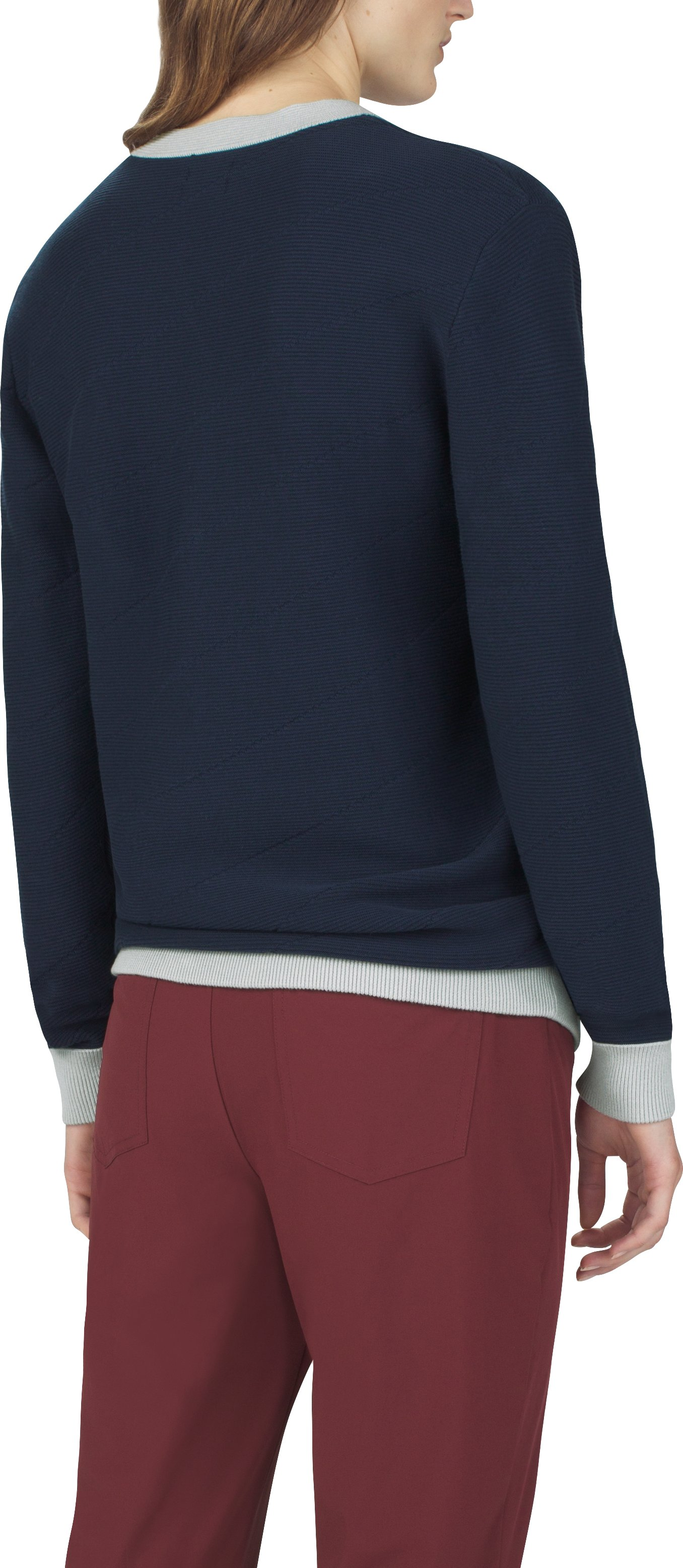 UAS Women's Fieldhouse Crew Sweater, Navy, undefined