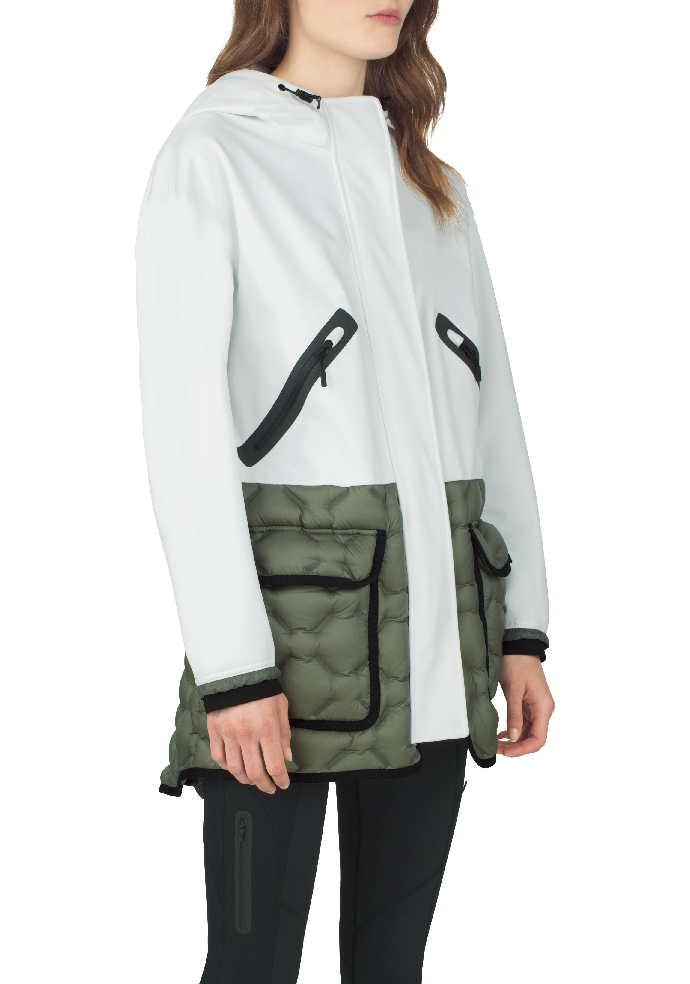 Women's UAS Formation Parka, White