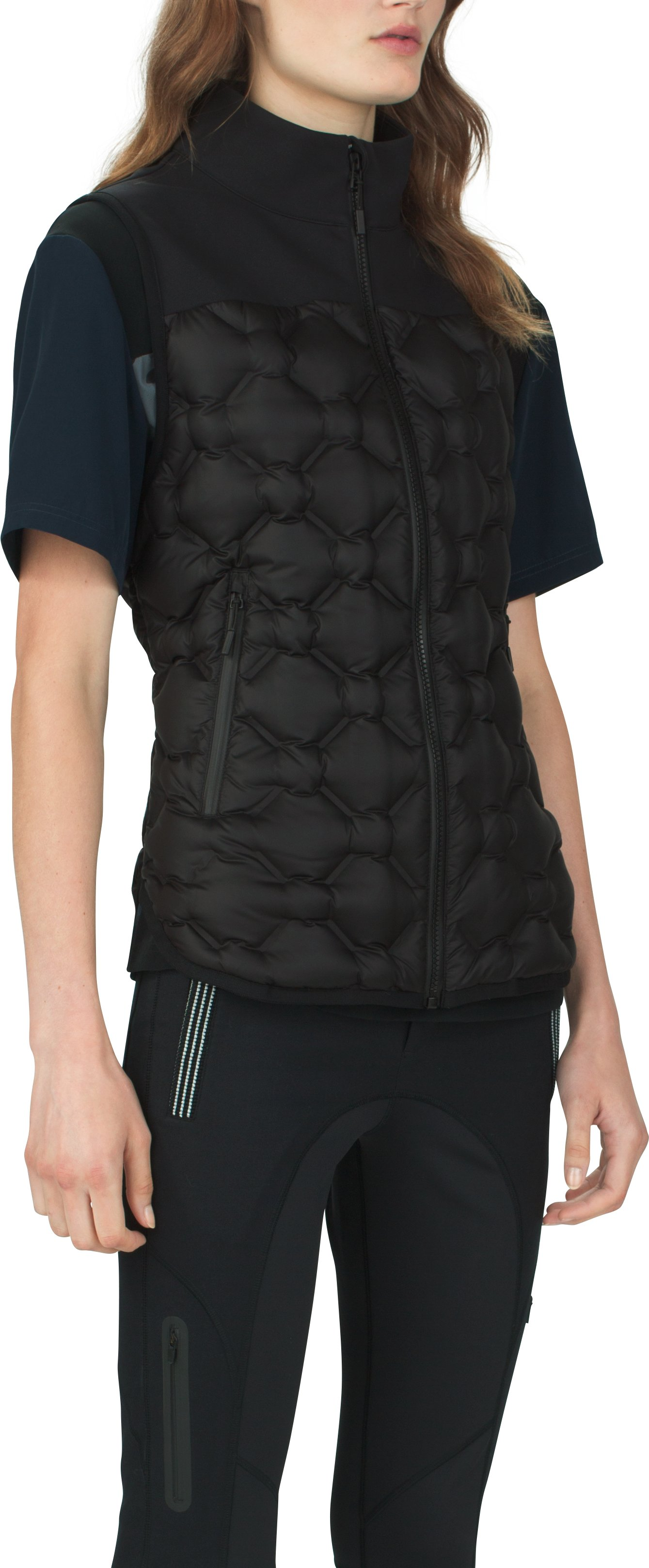 Women's UAS Formation Down Vest , Black