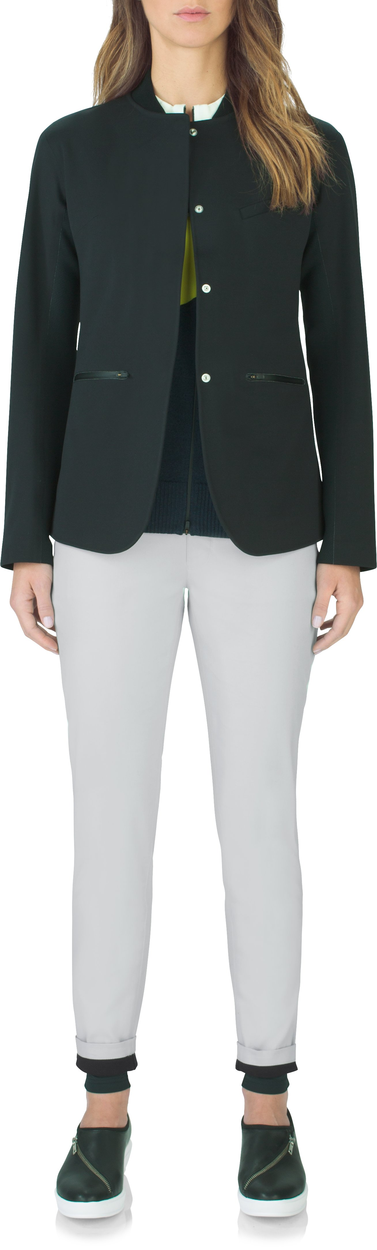 Women's UAS Endurance Chinos, GLACIER GRAY, Front