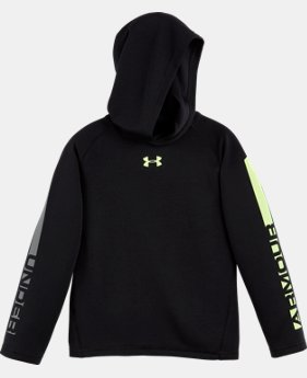 Boys' Pre-School UA Waffle Hoodie  LIMITED TIME: FREE U.S. SHIPPING 1 Color $24.99