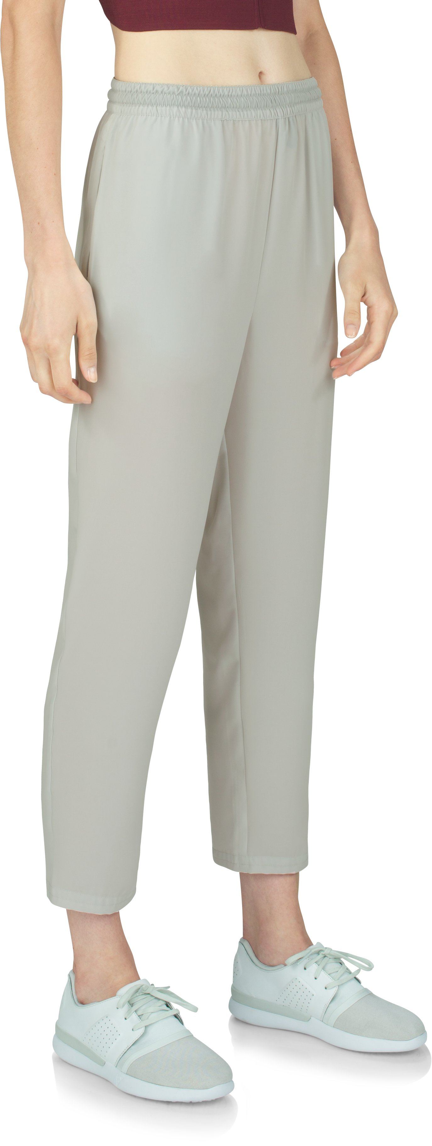 Women's UAS Downtown Flowy Pants, GLACIER GRAY, zoomed image