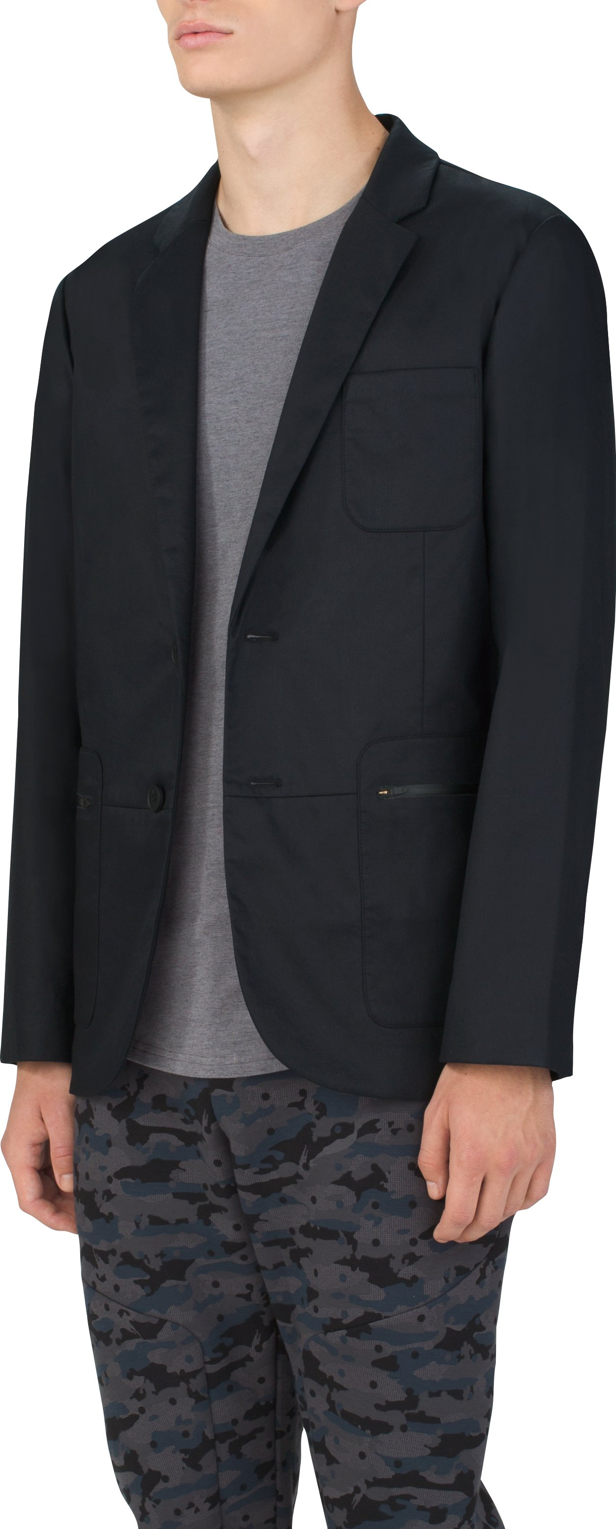 Men's UAS Draftday Rowing Blazer, Black