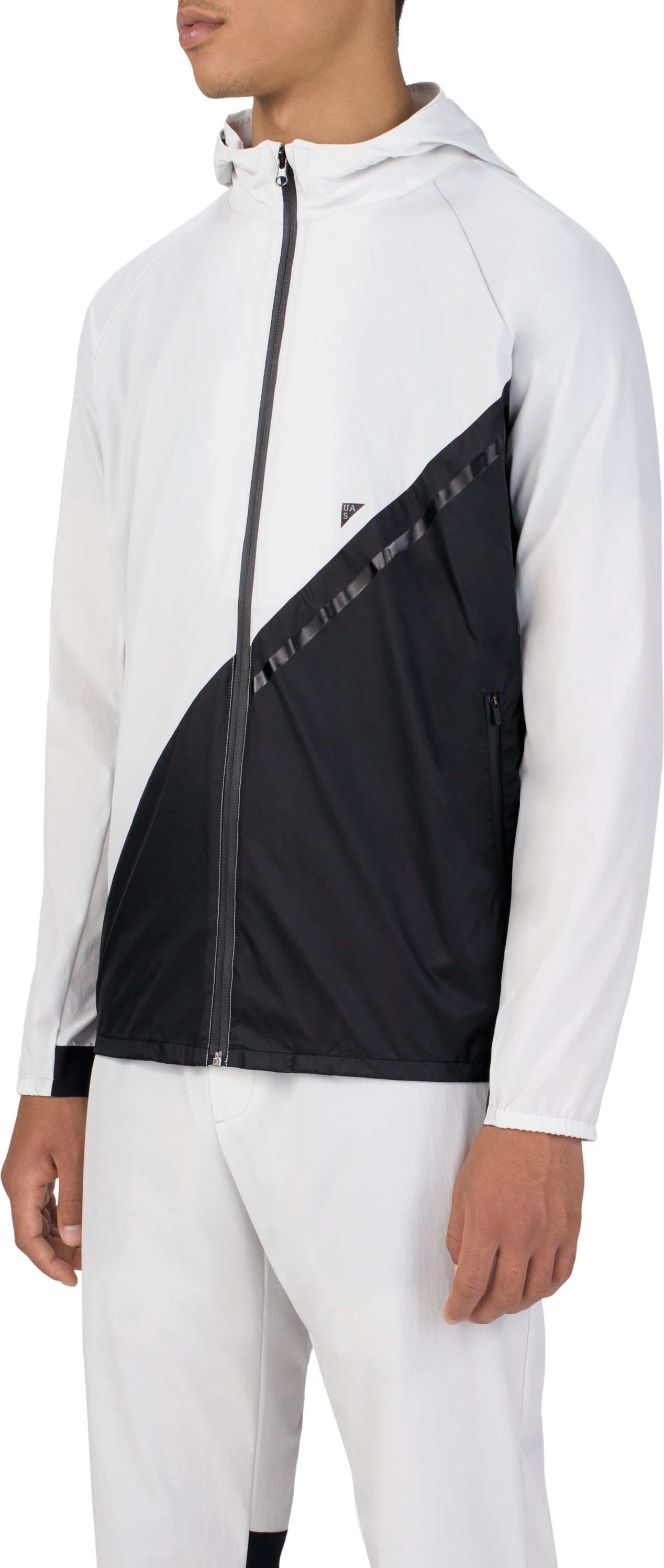 Men's UAS Meter's Track Jacket, GLACIER GRAY
