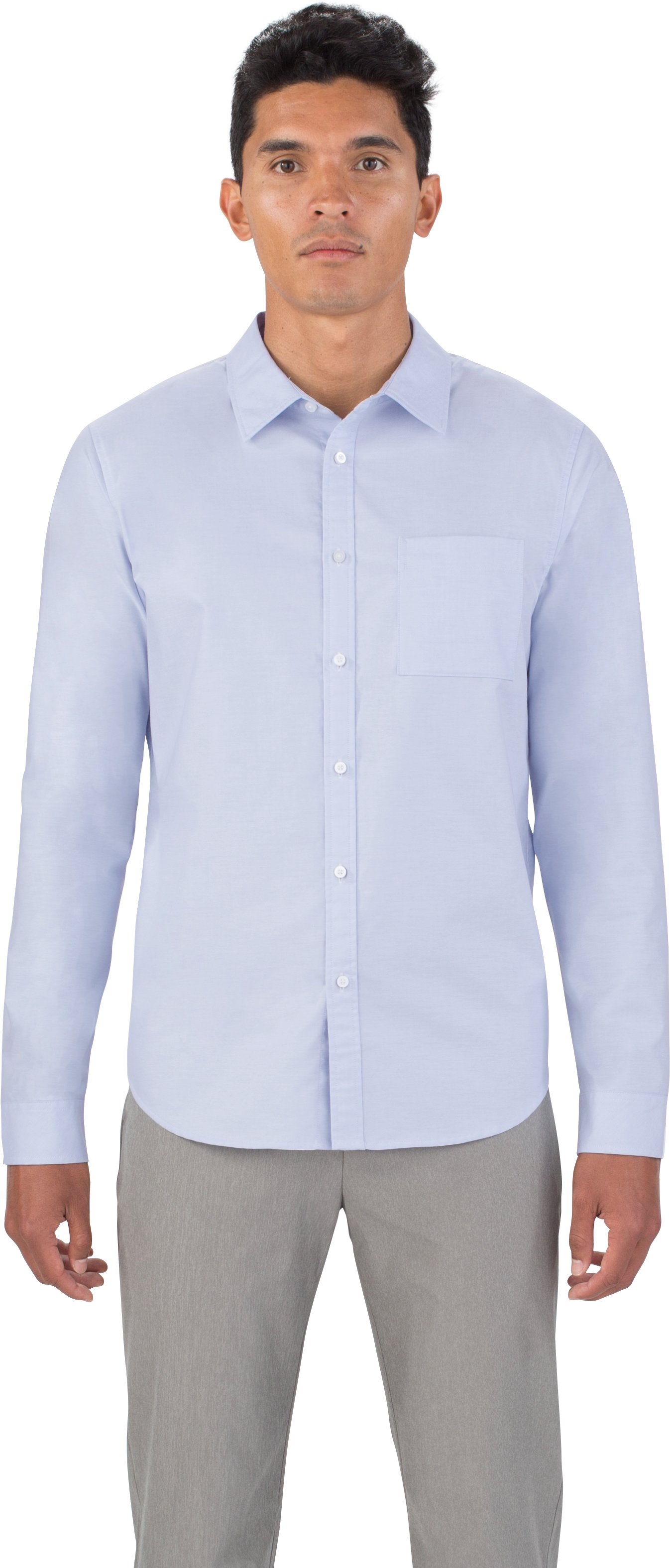 Men's UAS Draftday Oxford, Light Blue,
