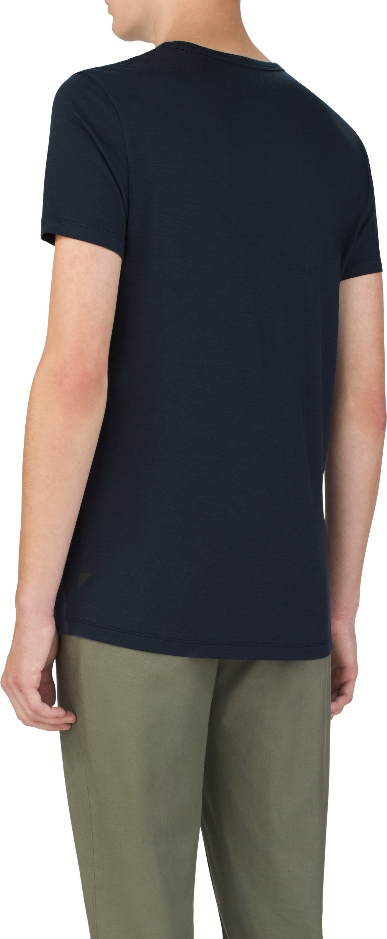 Men's UAS Prime Short Sleeve Crew, Navy, undefined