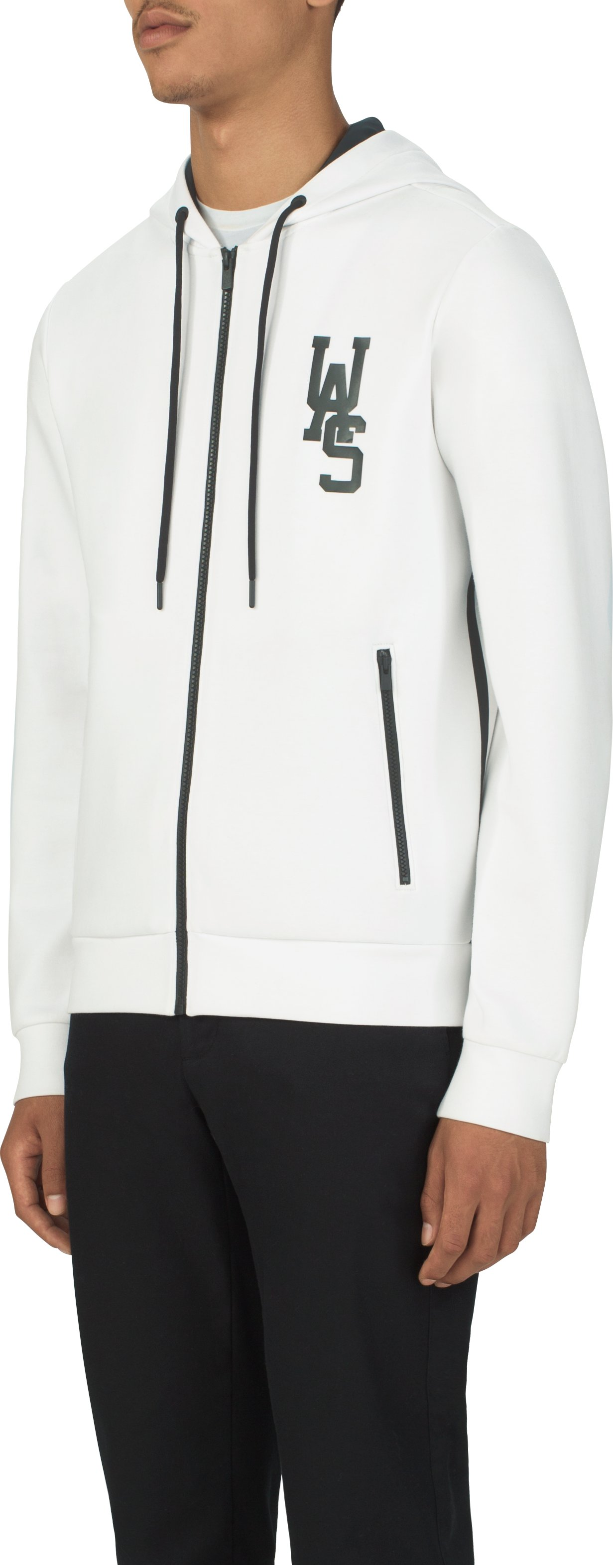 UAS Men's Tailgate Graphic Hoodie, White, undefined