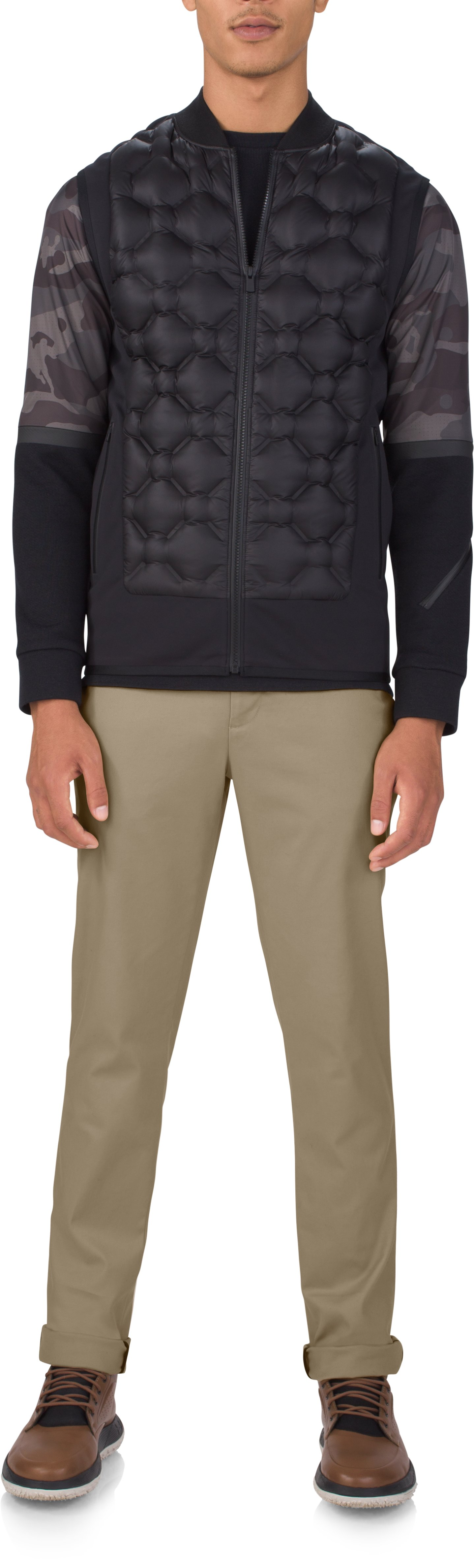 Men's Fieldhouse Rowing Chinos, Khaki, Front