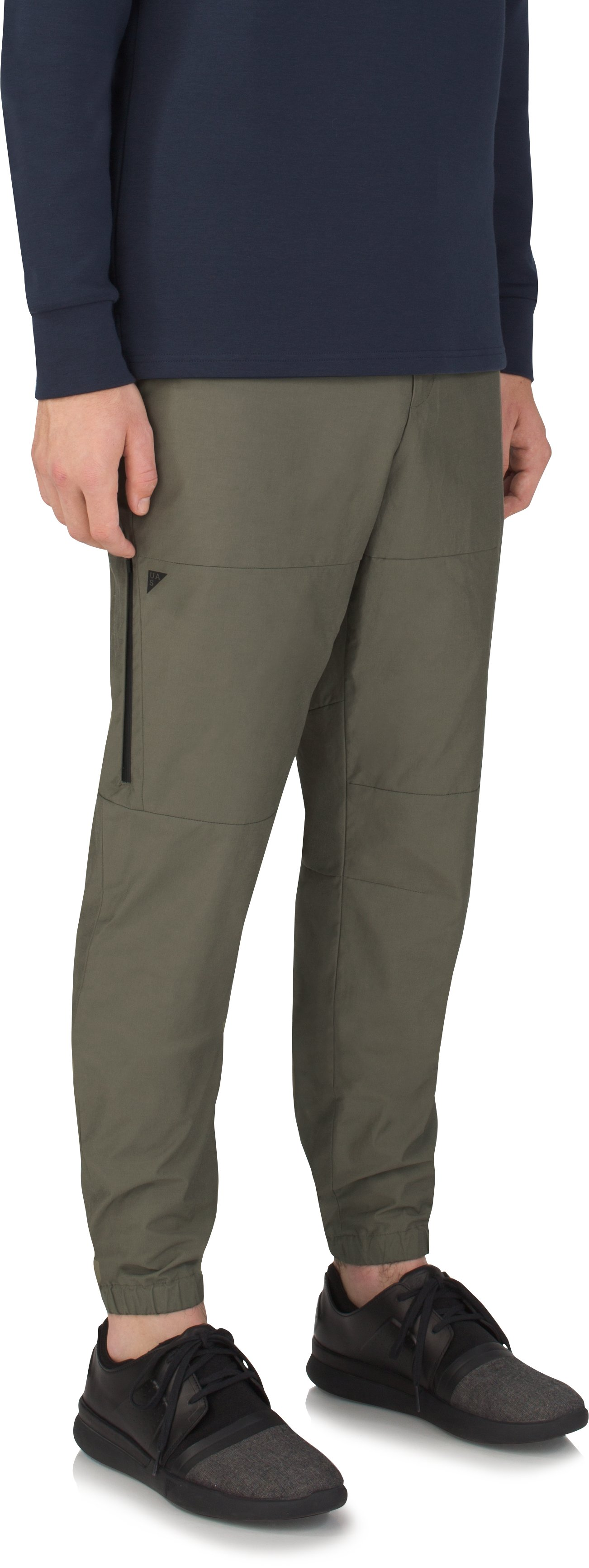 Men's UAS Fieldhouse Light Cargo Joggers, MILITARY GREEN, zoomed image
