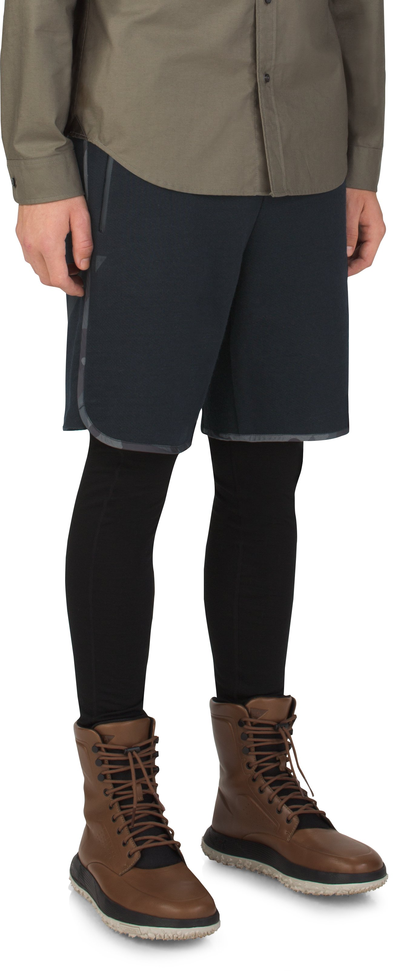 Men's UAS Pivot Terry Shorts, Black