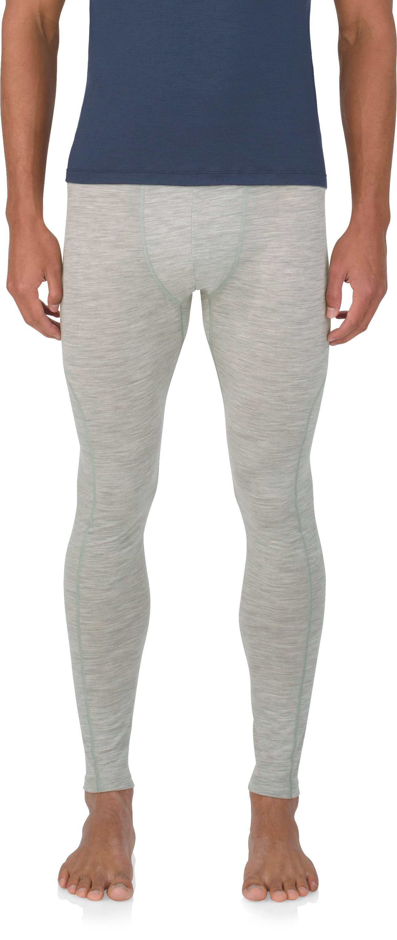 Men's UAS Prime Leggings, LIGHT HEATHER GRAY