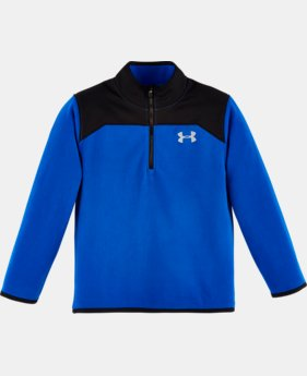 Boys' Pre-School UA Shellshock 1/4 Zip   $34.99