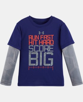Boys' Pre-School UA Run Fast Hexascope Slider LIMITED TIME: FREE U.S. SHIPPING  $29.99